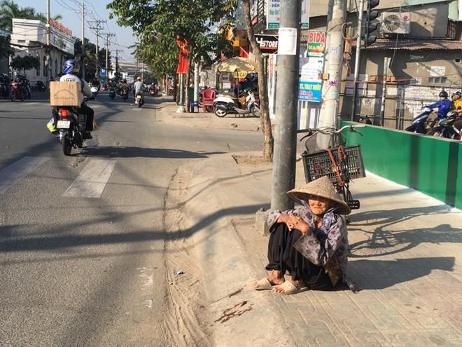 27 Tết, bà cụ ve chai vẫn miệt mài mưu sinh ở Sài Gòn mong đủ tiền mua gạo đón năm mới - Ảnh 1.