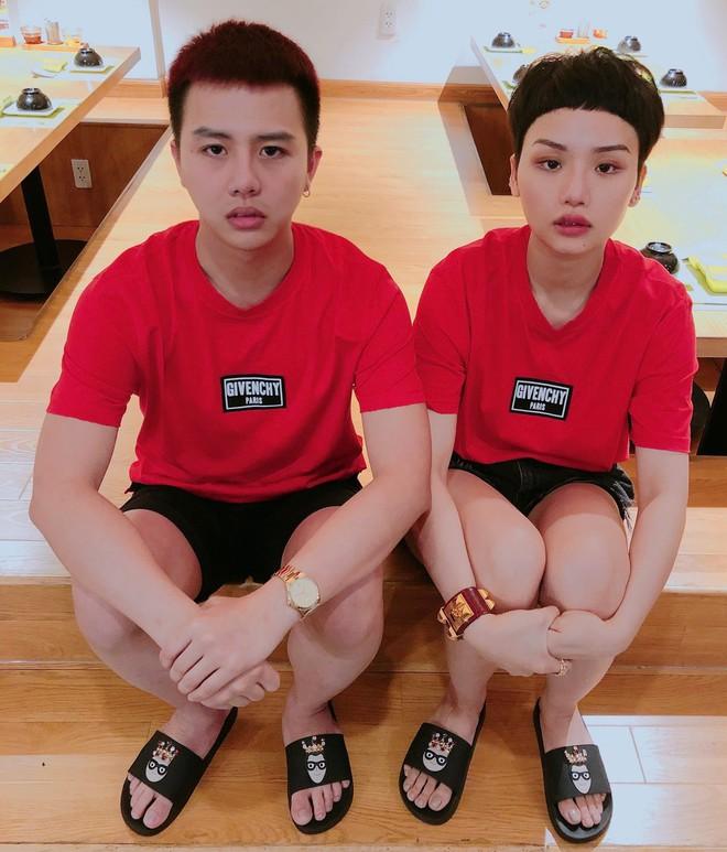 Ngoài cặp Kỳ Duyên - Diệp Lâm Anh, showbiz Việt còn cặp bạn thân Miu Lê - Duy Khánh cũng chăm diện đồ đôi - Ảnh 10.
