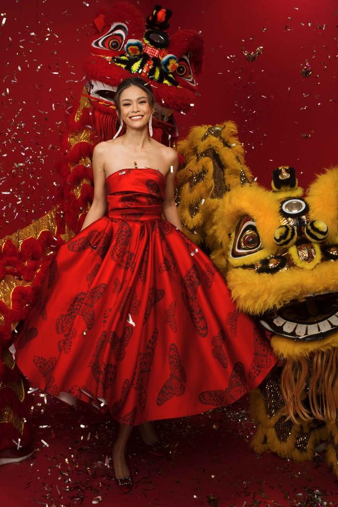 Ngất ngây trước hình ảnh HHen Niê cùng Hoàng Thùy, Mâu Thủy diện áo dài đón xuân - Ảnh 14.