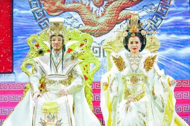 Xem trước Đàm Vĩnh Hưng diễn Ngọc Hoàng trong Táo quân miền Nam - Ảnh 2.
