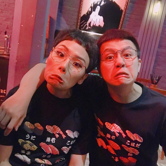 Ngoài cặp Kỳ Duyên - Diệp Lâm Anh, showbiz Việt còn cặp bạn thân Miu Lê - Duy Khánh cũng chăm diện đồ đôi - Ảnh 12.