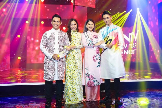 Bảo Anh, Văn Mai Hương, Ngọc Thanh Tâm khoe vẻ quyến rũ chào đón năm mới - Ảnh 1.