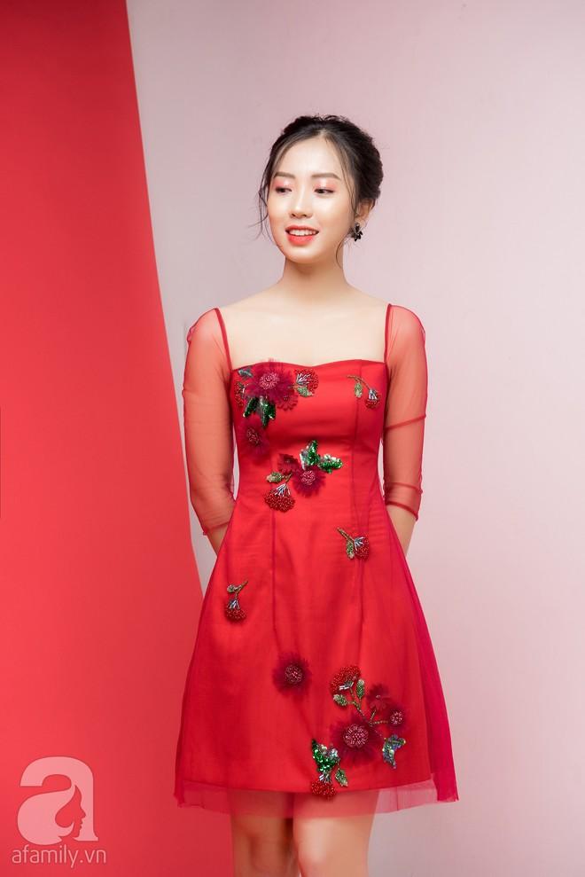 Loạt gợi ý trang phục với các tông đỏ khác nhau dành cho buổi hẹn hò lãng mạn ngày Valentine - Ảnh 3.