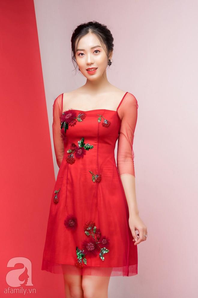 Loạt gợi ý trang phục với các tông đỏ khác nhau dành cho buổi hẹn hò lãng mạn ngày Valentine - Ảnh 1.