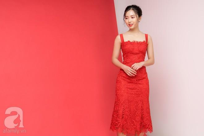 Loạt gợi ý trang phục với các tông đỏ khác nhau dành cho buổi hẹn hò lãng mạn ngày Valentine - Ảnh 7.