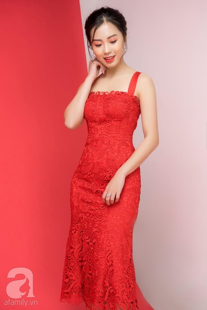 Loạt gợi ý trang phục với các tông đỏ khác nhau dành cho buổi hẹn hò lãng mạn ngày Valentine - Ảnh 8.