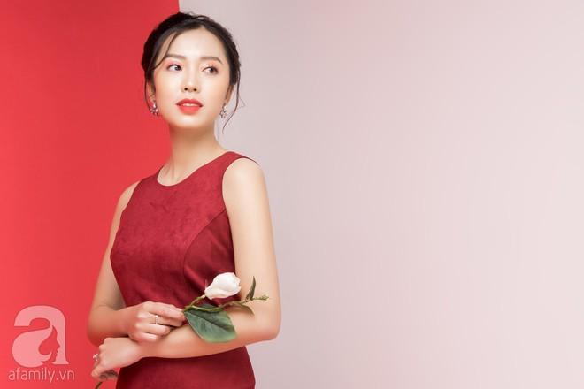Loạt gợi ý trang phục với các tông đỏ khác nhau dành cho buổi hẹn hò lãng mạn ngày Valentine - Ảnh 10.