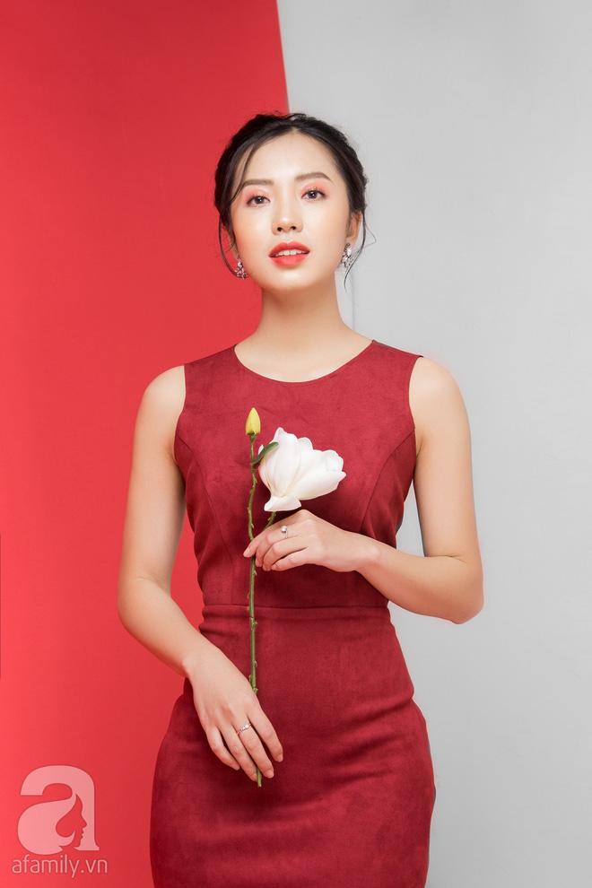 Loạt gợi ý trang phục với các tông đỏ khác nhau dành cho buổi hẹn hò lãng mạn ngày Valentine - Ảnh 9.