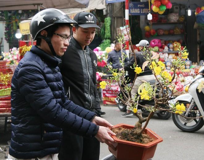 Cảnh nhộn nhịp, huyên náo tại chợ hoa cổ nhất Hà Nội ngày sát Tết - Ảnh 9.