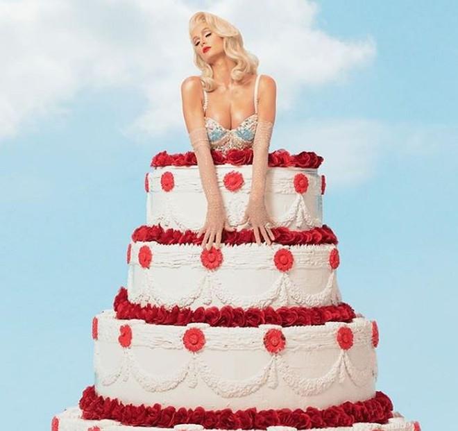 Ra mắt single đúng Valentine, Paris Hilton quyến rũ giữa thảm hoa hồng  Giải trí - Ảnh 2.