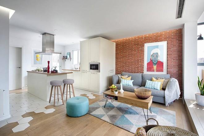 Thiết kế căn hộ phong cách Scandinavian đẹp đến từng centimet - Ảnh 1.