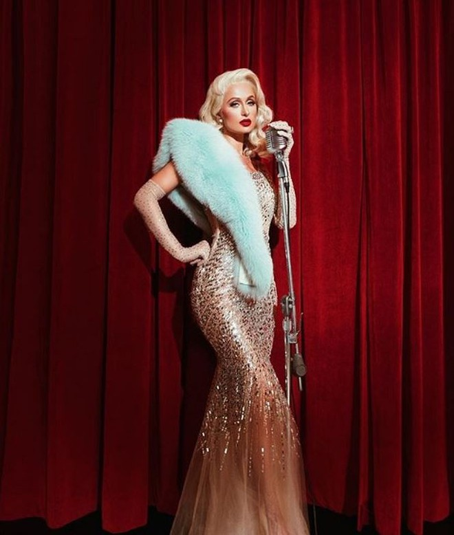 Ra mắt single đúng Valentine, Paris Hilton quyến rũ giữa thảm hoa hồng  Giải trí - Ảnh 4.