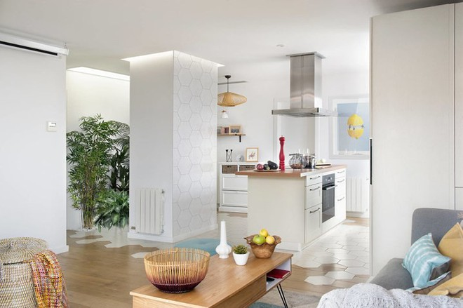 Thiết kế căn hộ phong cách Scandinavian đẹp đến từng centimet - Ảnh 4.