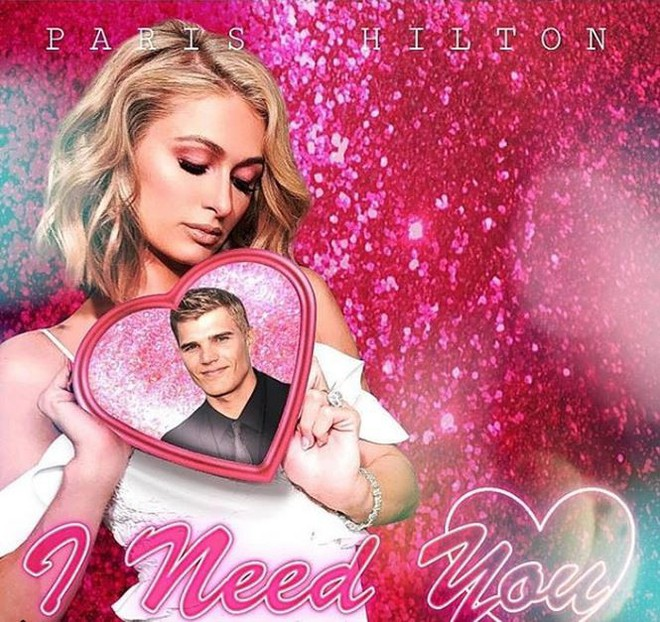 Ra mắt single đúng Valentine, Paris Hilton quyến rũ giữa thảm hoa hồng  Giải trí - Ảnh 5.
