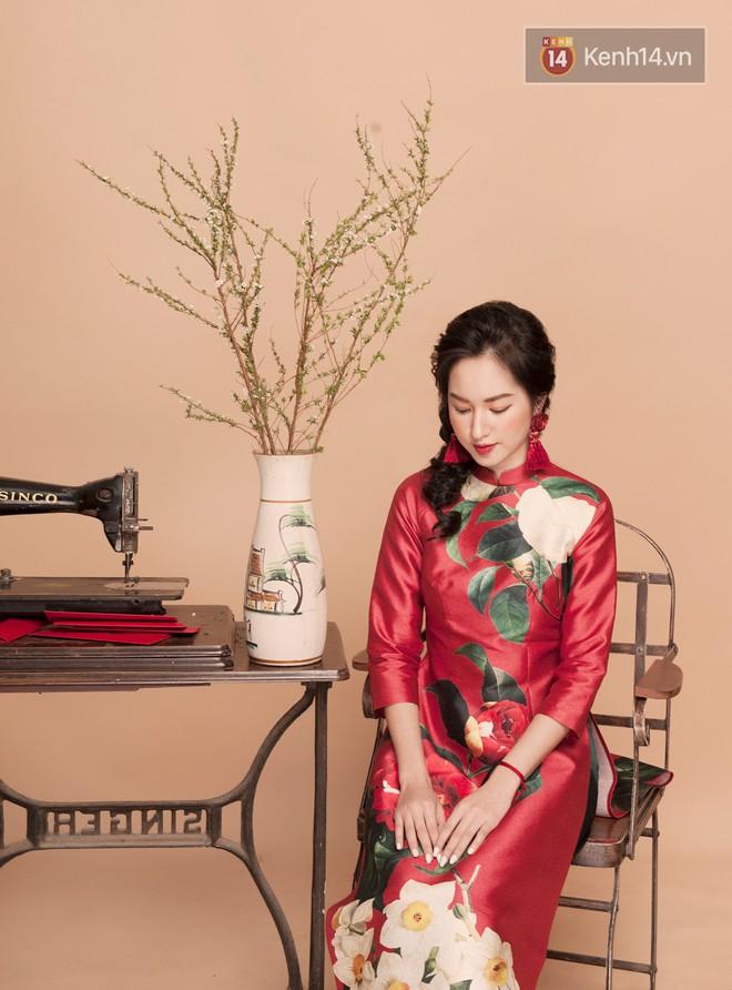 Tết này mặc áo dài: Sun HT, Mẫn Tiên, Lê Vi diện 15 mẫu áo dài cực xinh mà hẳn là bạn cũng đang cần tìm mua chúng - Ảnh 8.