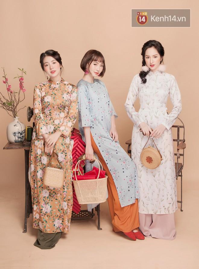 Tết này mặc áo dài: Sun HT, Mẫn Tiên, Lê Vi diện 15 mẫu áo dài cực xinh mà hẳn là bạn cũng đang cần tìm mua chúng - Ảnh 9.