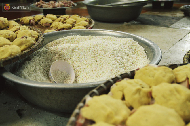 Chùm ảnh: Làng bánh chưng Tranh Khúc tất bật những ngày giáp Tết truyền thống - ảnh 6
