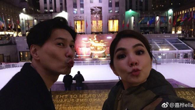 Vợ chồng Ella (S.H.E) trốn con tới New York hẹn hò nhân dịp năm mới - ảnh 5