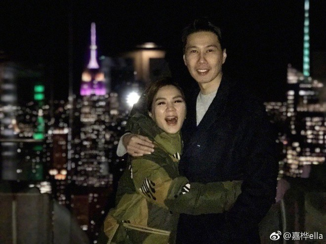 Vợ chồng Ella (S.H.E) trốn con tới New York hẹn hò nhân dịp năm mới - ảnh 6