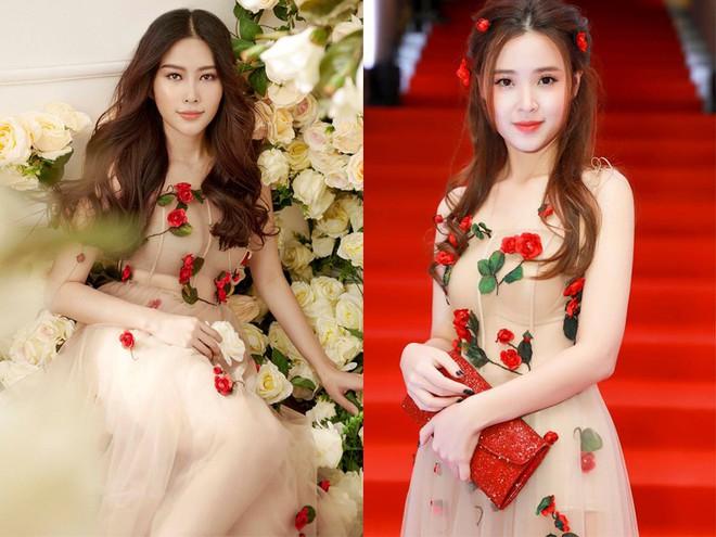 Không hẹn mà gặp, Midu và Nam Em cùng hóa thân thành nàng Xuân yêu kiều trong cùng 1 thiết kế váy hoa  - Ảnh 10.