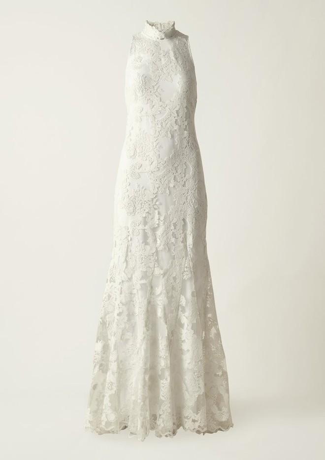Bạn không nhầm đâu, H&M thực sự đã thiết kế váy cưới từ lưới đánh cá và đồ tái chế! - Ảnh 1.