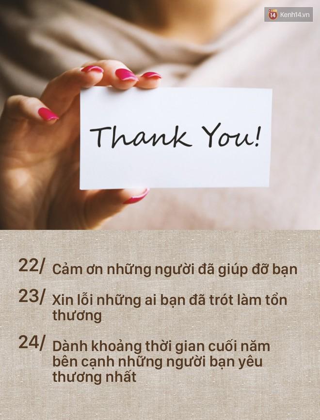 Đây là danh sách 24 việc cần hoàn thành ngay trong ngày cuối năm! - Ảnh 9.