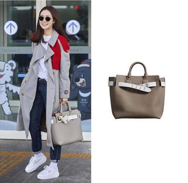 Choi Ji Woo trẻ trung diện đồ như gái đôi mươi sang London tham dự tuần lễ thời trang - Ảnh 2.