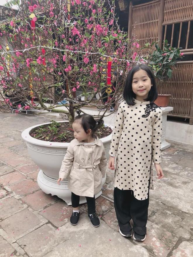 Chẳng riêng gì sao Việt, các nhóc tỳ nhà sao cũng xúng xính áo dài đón Xuân mới - Ảnh 11.