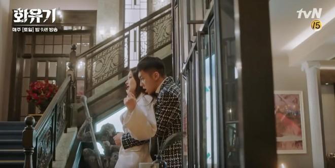 """Há hốc mồm trước cảnh """"Ngộ Không"""" Lee Seung Gi xô ngã, bạo lực bóp cổ Oh Yeon Seo - Ảnh 1."""