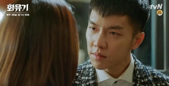 """Há hốc mồm trước cảnh """"Ngộ Không"""" Lee Seung Gi xô ngã, bạo lực bóp cổ Oh Yeon Seo - Ảnh 3."""