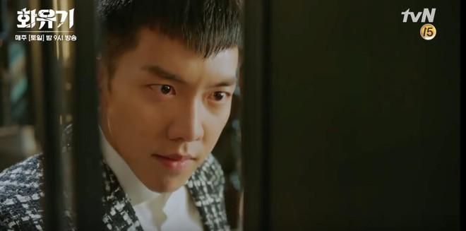 """Há hốc mồm trước cảnh """"Ngộ Không"""" Lee Seung Gi xô ngã, bạo lực bóp cổ Oh Yeon Seo - Ảnh 6."""