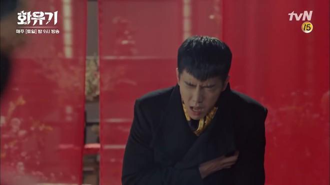 """Há hốc mồm trước cảnh """"Ngộ Không"""" Lee Seung Gi xô ngã, bạo lực bóp cổ Oh Yeon Seo - Ảnh 9."""