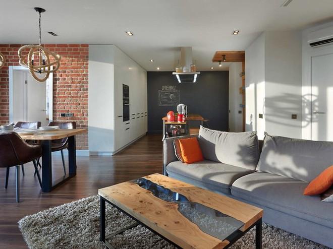 Căn hộ chung cư thiết kế hòa hợp theo phong cách Á-Âu - Ảnh 1.