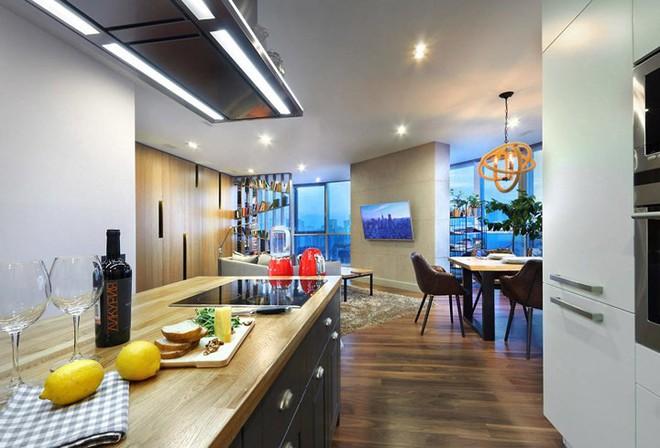 Căn hộ chung cư thiết kế hòa hợp theo phong cách Á-Âu - Ảnh 5.