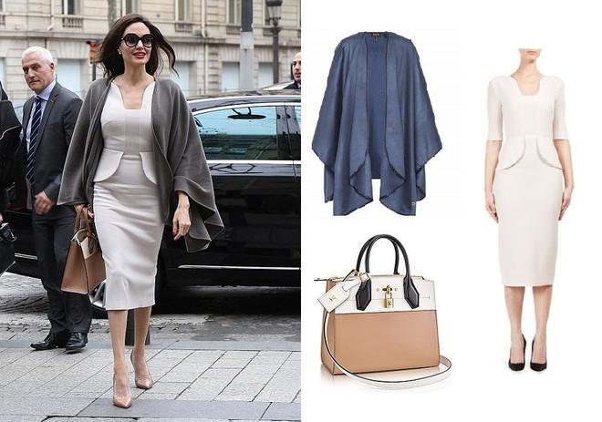 Diện đồ đơn giản, nhưng ít ai ngờ Angelina Jolie đã chi gần 500 triệu đồng cho trang phục trong chuyến đi Paris vừa qua - Ảnh 3.