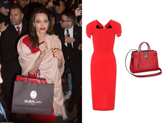 Diện đồ đơn giản, nhưng ít ai ngờ Angelina Jolie đã chi gần 500 triệu đồng cho trang phục trong chuyến đi Paris vừa qua - Ảnh 8.