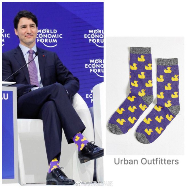 """Chẳng phải trang phục, giờ đây những đôi tất của Thủ tướng Canada mới là thứ người ta muốn """"bóc giá"""" - Ảnh 5."""