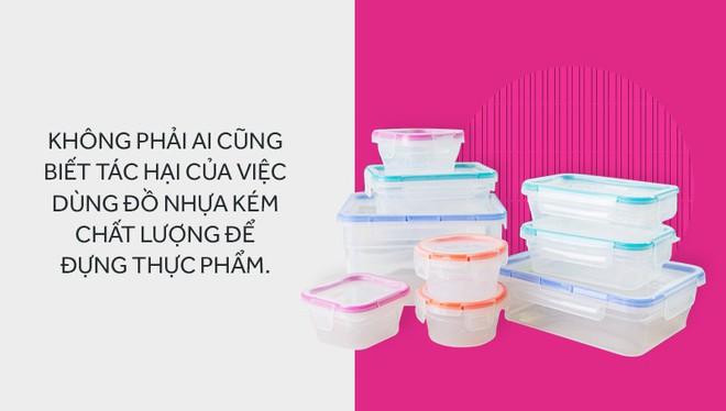 Đừng lưu luyến hộp nhựa đựng thực phẩm kém chất lượng mà rước hoạ sức khoẻ cho cả gia đình - Ảnh 1.