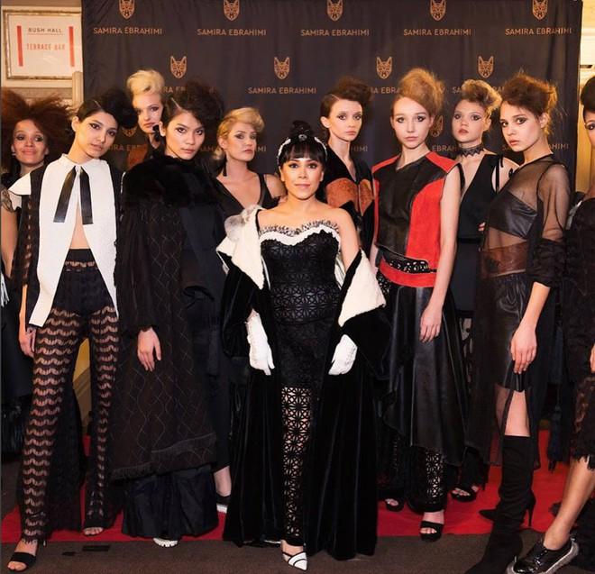 Tẩm ngẩm tầm ngầm là thế mà Kim Dung Next Top đã trúng đến 4 show tại London Fashion Week - Ảnh 8.