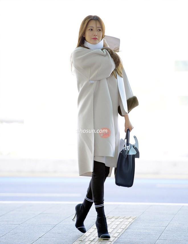 Mỹ nhân không tuổi Kim Hee Sun lên đường sang Milan dự tuần lễ thời trang - Ảnh 1.