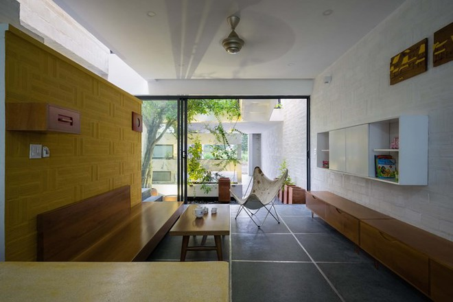 Ngôi nhà có kiến trúc của văn hóa hai miền Nam Bắc - Ảnh 3.