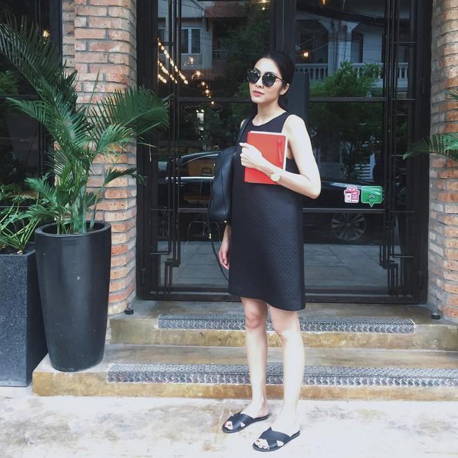 Nhìn lại phong cách của bà bầu đẹp nhất Vbiz Tăng Thanh Hà qua 3 lần bầu bí - Ảnh 10.