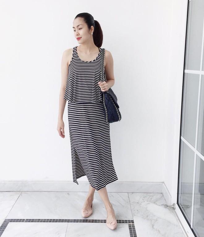 Nhìn lại phong cách của bà bầu đẹp nhất Vbiz Tăng Thanh Hà qua 3 lần bầu bí - Ảnh 9.