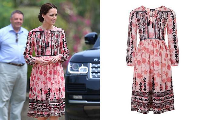 12 thương hiệu thời trang từ bình dân cho tới cao cấp luôn trong tình trạng cháy hàng nhờ Meghan Markle và Kate Middleton - Ảnh 7.