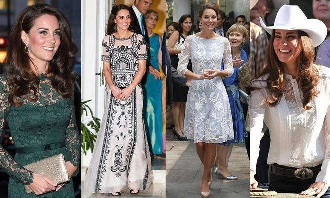 12 thương hiệu thời trang từ bình dân cho tới cao cấp luôn trong tình trạng cháy hàng nhờ Meghan Markle và Kate Middleton - Ảnh 9.