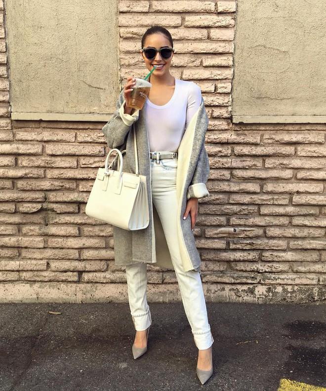 Hoa hậu chân ngắn Olivia Culpo và những độc chiêu chọn đồ giúp các nàng ăn gian chiều cao khéo léo - Ảnh 7.