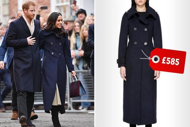 12 thương hiệu thời trang từ bình dân cho tới cao cấp luôn trong tình trạng cháy hàng nhờ Meghan Markle và Kate Middleton - Ảnh 4.