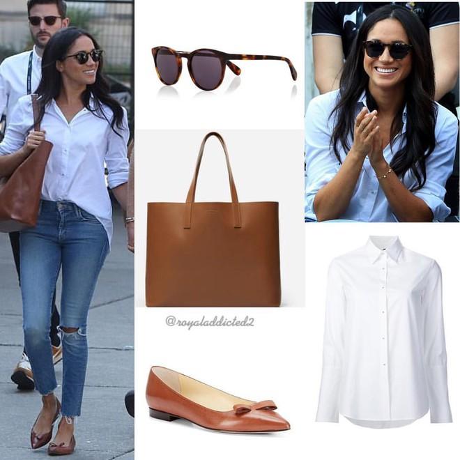 12 thương hiệu thời trang từ bình dân cho tới cao cấp luôn trong tình trạng cháy hàng nhờ Meghan Markle và Kate Middleton - Ảnh 6.