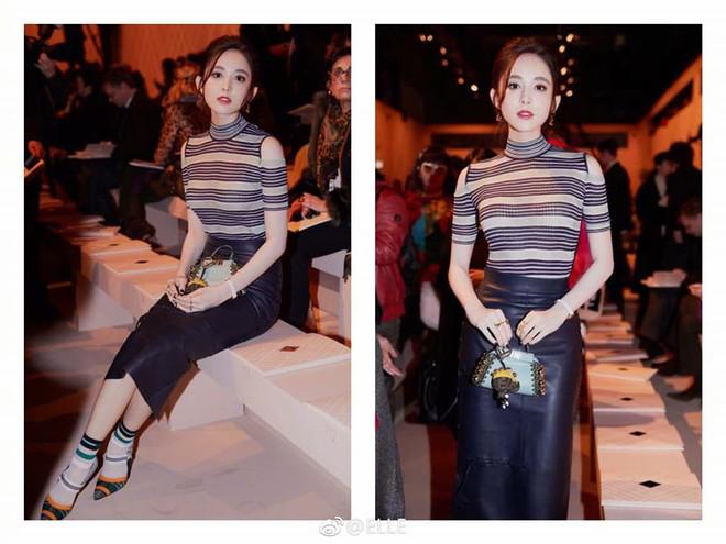 Kim Hee Sun lộ mặt bóng dầu, trong khi Cổ lực Na Trát thần thái ngút ngàn tại show thời trang Fendi  - Ảnh 6.