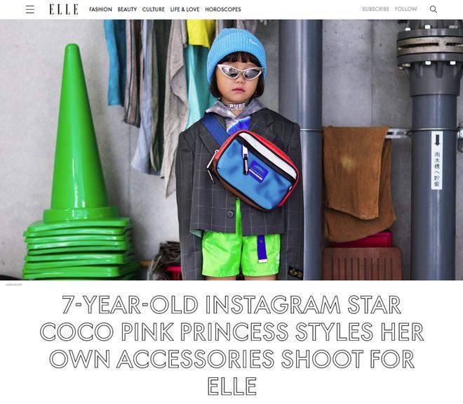 Fashionista 7 tuổi người Nhật từng gây sốt nay còn tự mix đồ hiệu xịn sò cho photoshoot chất ngất của mình trên Elle Mỹ - Ảnh 2.